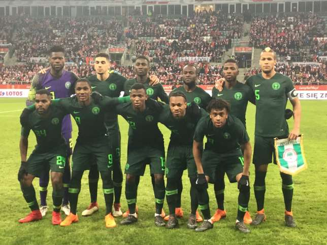 Nike made the Super Eagles' World Cup kit out of plastic bottles.
